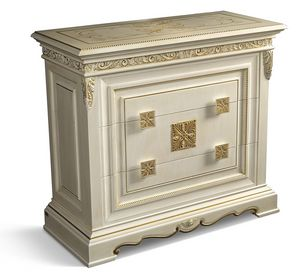 4022, Carved classic chest of drawers