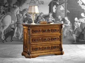 Art. 660 chest of drawers, Chest of drawers in early XVIII century style