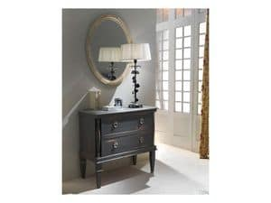 Picture of Chest of drawers Empire, wooden sideboard with antique finish
