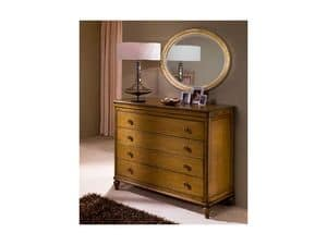 Picture of Classical bedroom Luxe - chest of drawers, hand-worked sideboard