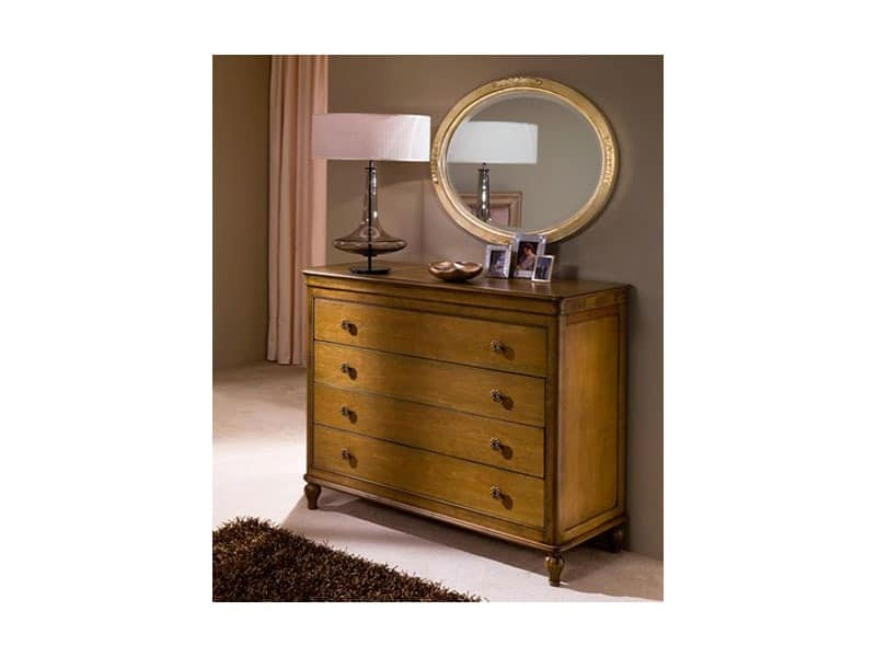 Classical bedroom Luxe - chest of drawers, Classic style units with drawers Historic villa