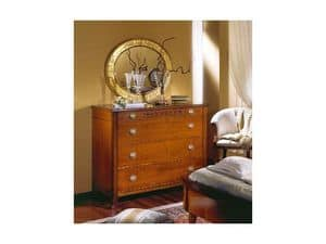 Picture of Classical chest of drawers Kori, antique sideboard