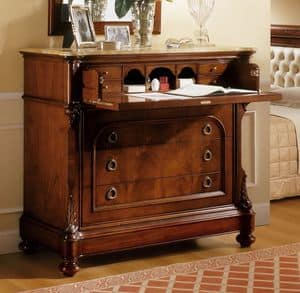 Picture of D'Este chest of drawers, classic style furniture for bedroom