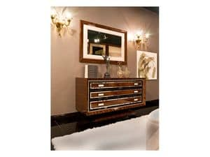 Picture of Dolce Vita Chest of drawers 2, hand decorated sideboard in classic style