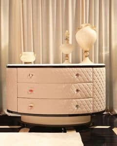 Picture of Dolce Vita Chest of drawers 4, classic style units with drawers