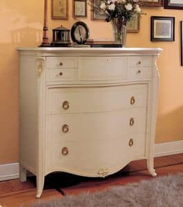 Picture of Elite chest of drawers lacquered, period sideboards