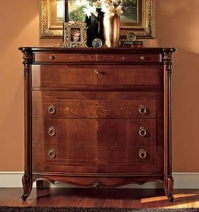 Picture of Roma chest of drawers, hand-worked sideboards