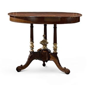 4610/T, Inlaid round small table