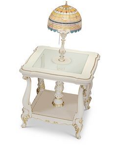 4613/TL, Classic lamp table, with lamp