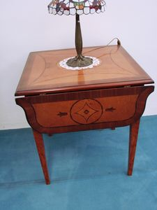 Art. 130, Extending coffee table with inlaid top