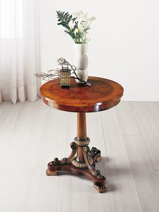 Art. 177, Inlaid round table with drawer