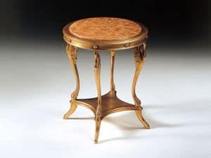 Picture of Art. 224 Leda, hand carved luxury small tables