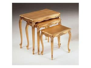 Art. 252, Luxury little tables, hand-carved, for hotel