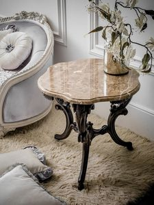 Art. 4074, Classical side table with marble top