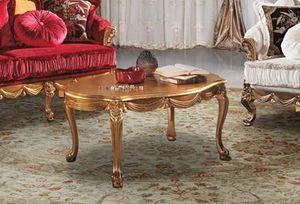 CASANOVA coffee table, Hand-carved coffee table