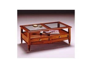 Picture of Coffee table magazine holder, wooden small table