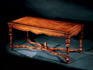 Elena coffee table 762, Small table with handmade inlays