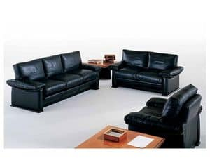 Picture of Mythos Sofa, elegant upholstered armchairs