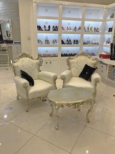 Stradivari Noce coffee table, Coffee table, carved wood, marble top