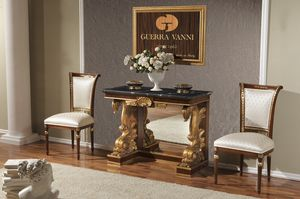 Art. 2052, Classic console with black marble top