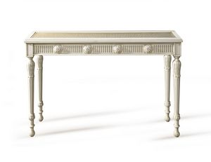 Art. 730 Colette, Classic console, in Vienna's straw and crystal, Louis XVI style
