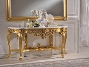 Art. MARIA.CONS, Luxurious console carved by hand