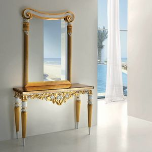 Capri CP189, Luxurious console with precious carvings