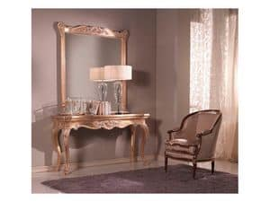 Picture of Consolle + Mirror, wooden furniture