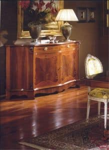 3190 SIDEBOARD, Sideboard with 2 doors for dining rooms, classic style