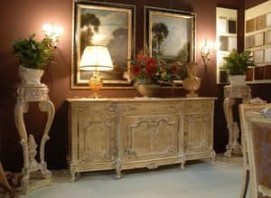 3485 SIDEBOARD, Sideboard with 3 doors for classic style dining rooms