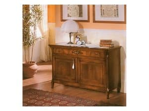 Picture of 99 NOCE / 2 doors sideboard, wooden sideboard