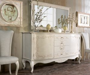 Art. 0164, Sideboard with embossed decorations