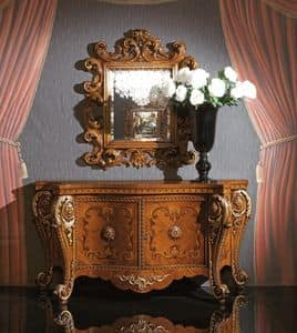Art. 340, Luxury sideboard in Inlaid wood, for Dining room