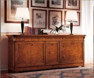 Art. 781/C5, Sideboard with 5 doors suited for classic dining room