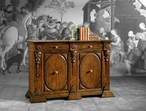 Art. 822 sideboard, Classic sideboard with small dimensions