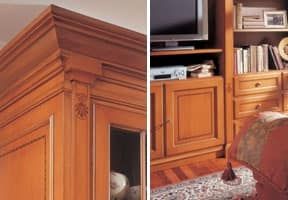 Wooden sideboards Boiserie Delfi