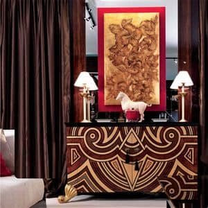 Lacquered Console For Entrance Contemporary Classic