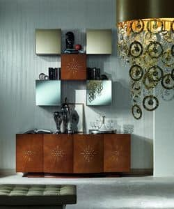 Picture of CR45 Opera, sideboard in wood