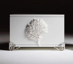 Picture of Credenza 2 ante_flower, luxury classic sideboard
