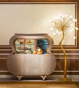 MB52, Buffet musical unit with leather covering
