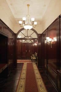 Picture of Bank boiserie, luxury classic woodwork
