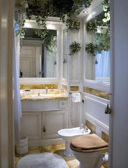 Panelling In Wood Bathroom Boiserie