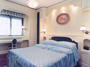 Picture of Bedroom Boiserie, decorative wall panels