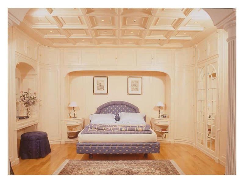 Wood paneling for bedrooms idfdesign - Camera da letto con boiserie ...