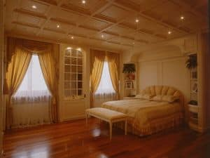 Picture of Boiserie Bedroom, luxury classic woodwork