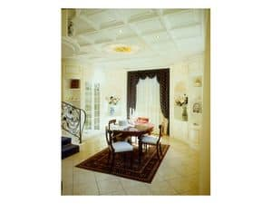 Picture of Boiserie dining room, decorative wall panel