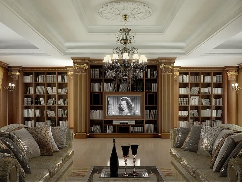 Boiserie wien by m2l di marotta a c sas similar for Classic luxury homes