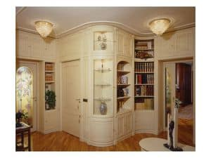 Picture of Boiserie living room, panelling in wood