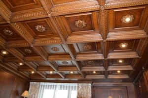 Picture of Wooden ceiling Luxor, wooden wall panels