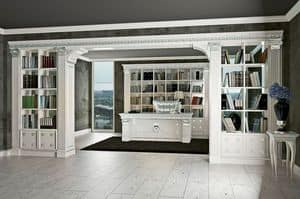 Picture of Boiserie office Classmode, wood panelling